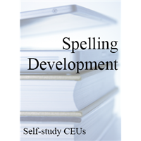 Spelling Development Self-study