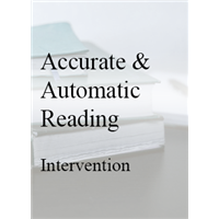 Accurate and Automatic Reading Intervention For First Grade and Beyond In-House