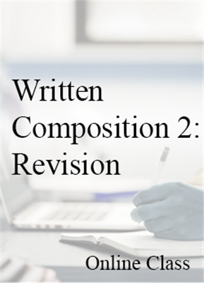 Written Composition: Revision for CEU credit