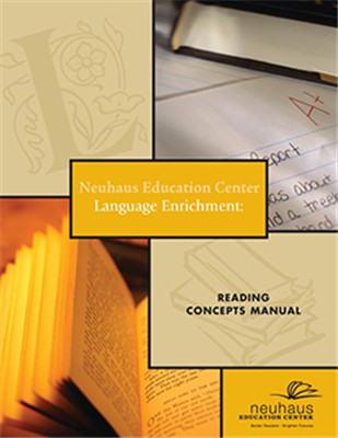 Language Enrichment: Reading Concepts Manual (with Sound Board)