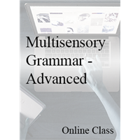 Multisensory Grammar - Advanced - On-demand