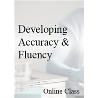Developing Accuracy and Fluency - On-demand