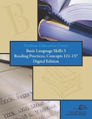 Basic Language Skills Reading Practices, Concepts 121-137 (Digital Edition)