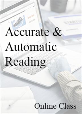 Accurate & Automatic Reading - On-Demand