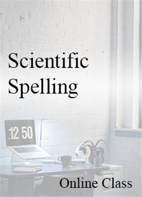 Scientific Spelling - On-demand