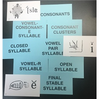 Deck Dividers w/Final Stable Syllable Cards