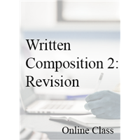 Written Composition: Revision (Not for Credit)