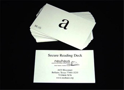 Secure Reading Deck