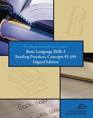 Basic Language Skills Reading Practices, Concepts 92-105 (Digital Edition)