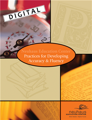 Digital Practices for Developing Accuracy & Fluency