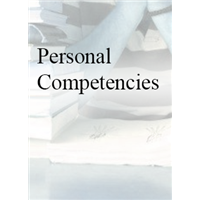 Personal Competencies: The Something Else  for Student Success - In House