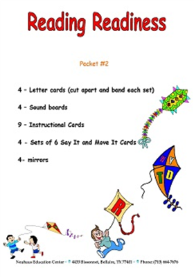 Reading Readiness Kit 2 - Laminated