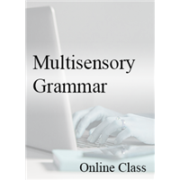 Multisensory Grammar - On-demand